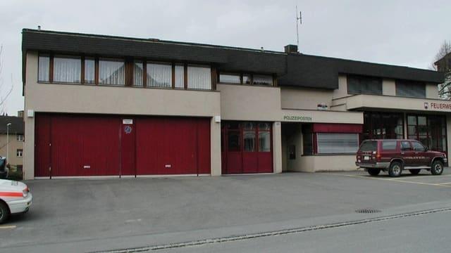 Der Polizeiposten in Kaltbrunn.
