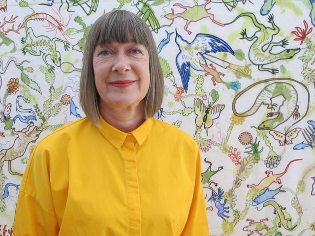 Joanna Bowring, aktuelle Präsidentin von Intercolor