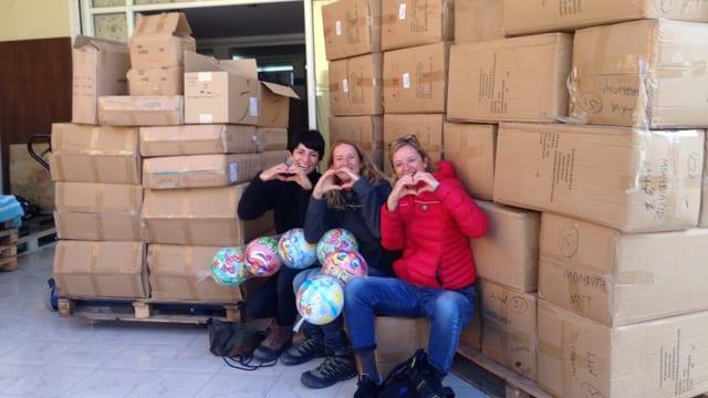 Gitti Lechner, Martina Van Middeelaar e Roberta Zingg.