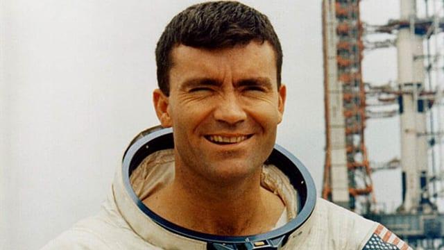 Astronaut Fred Haison war bei der spektakulären Apollo 13–Mission mit dabei.
