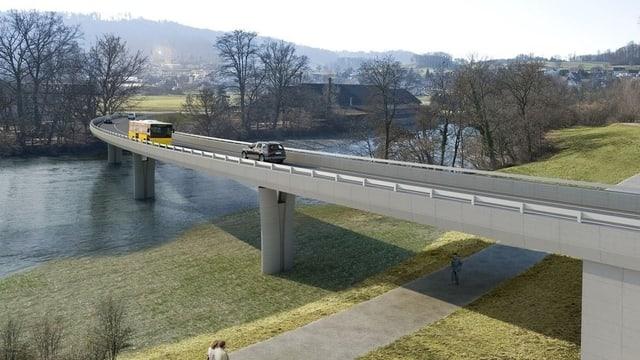 Brücke über die Reuss