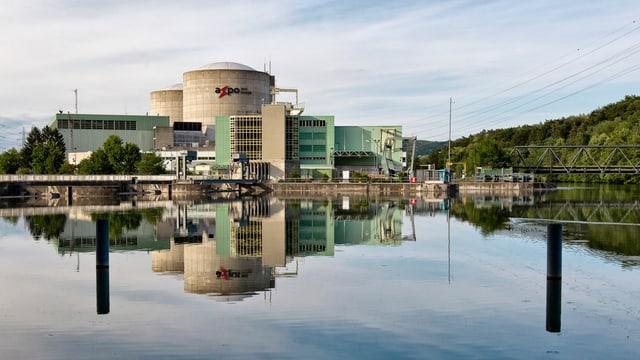 Kernkraftwerk Beznau.