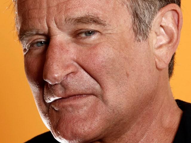 Nahaufnahme von Robin Williams