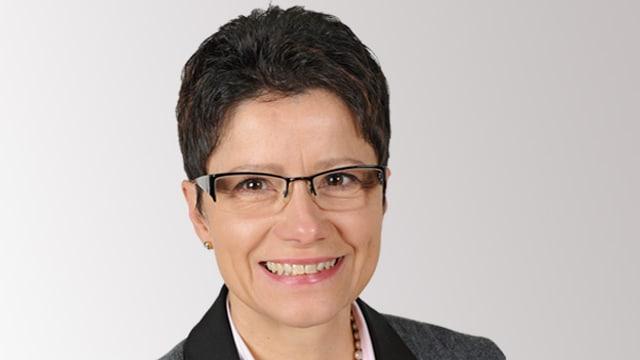 Poträtbild von Maya Büchi, Regierungsrats-Kandidatin der FDP Obwalden.