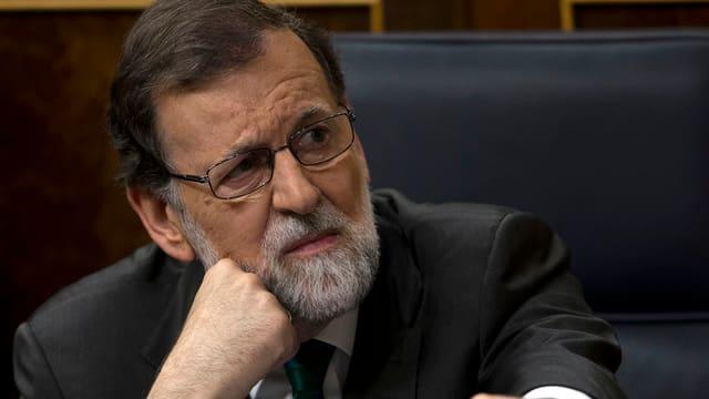 Rajoy nachdenklich