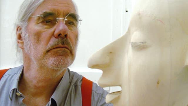Video «Schang Hutter – Bildhauer» abspielen