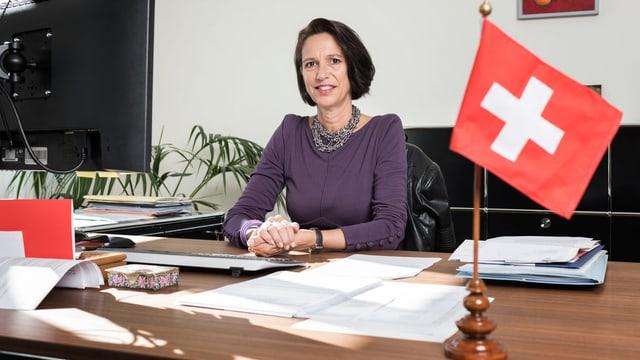 Die Schweizer Botschafterin in Berlin Christine Schraner Burgener.