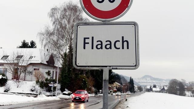 Flaach im Zürcher Weinland: Schauplatz der Tragödie.