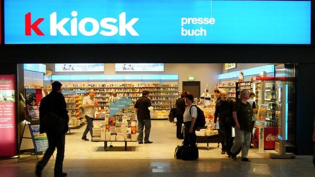 Ansicht eines K Kiosk