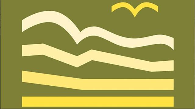 Purtret dal logo da la UNESCO-Biosfera Engiadina Val Müstair.