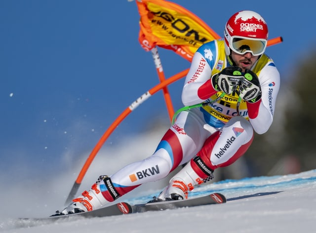 Carlo Janka sin skis