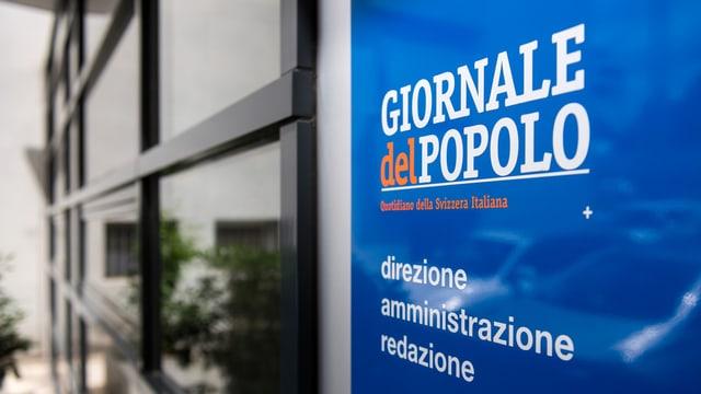 inscripziuns dals biros e redacziuns da la gasetta Giornale del Popolo