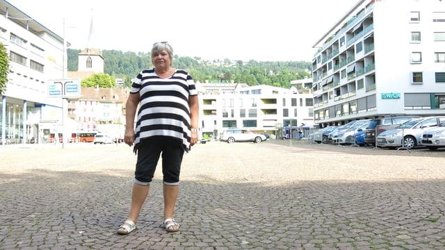 Die Bielerin Hildegard Hirzel vom Schweizerischen Marktverband.