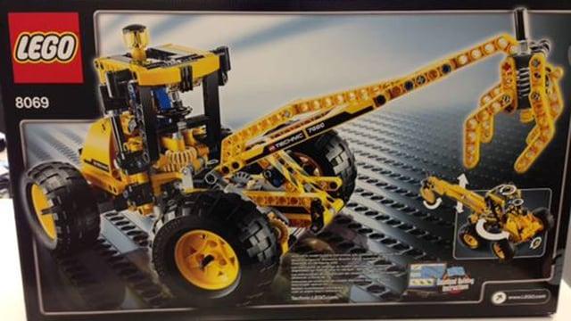 Verpackung Lego-Bagger