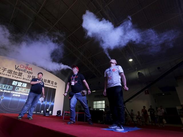 Cloud-Chaser beim Wettbewerb