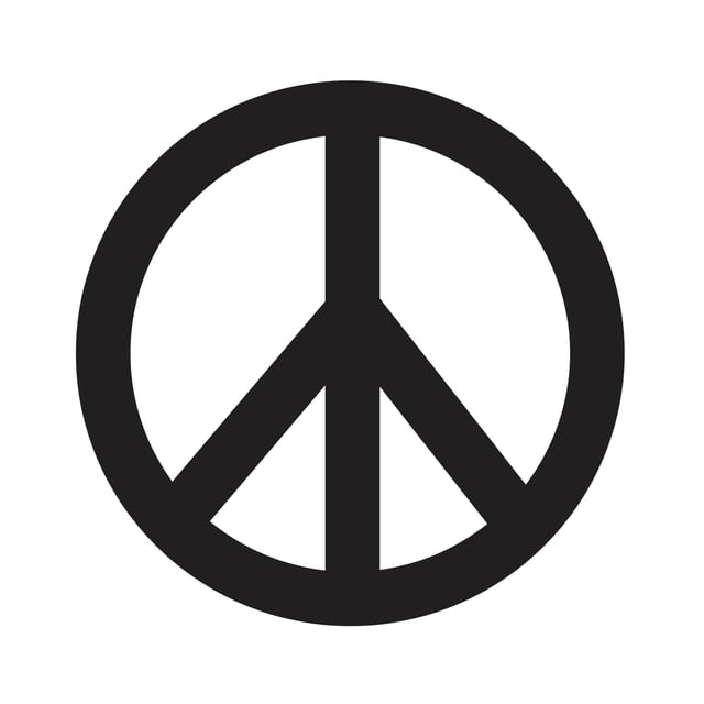 Das Peace-Symbol