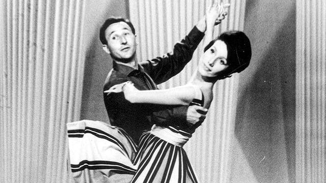 Marianne und Walter Kaiser in Tanzpose