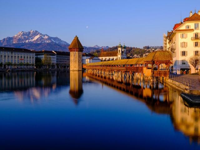 Kappellbrücke in Luzern