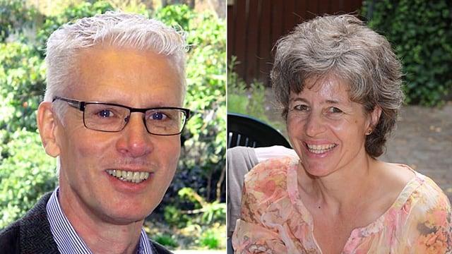 Bildmontage: Porträt der beiden «Persönlich»-Gäste.