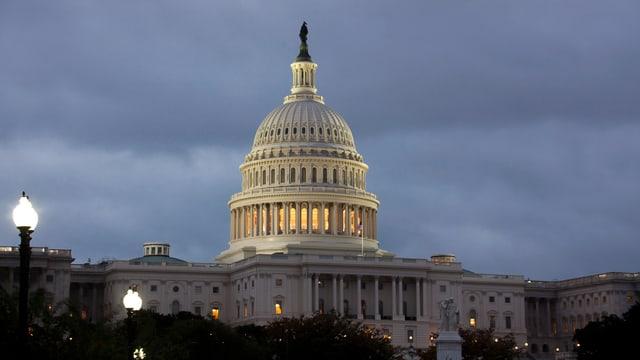 Purtret dal parlament a Washington en l'USA.