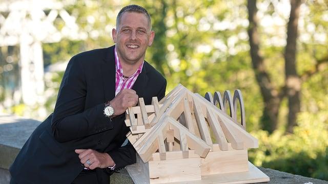 Der Gründer von Müller Holzbau.