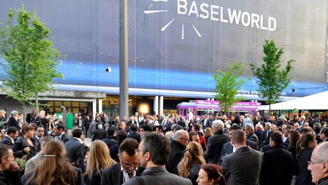 Eingang Baselworld
