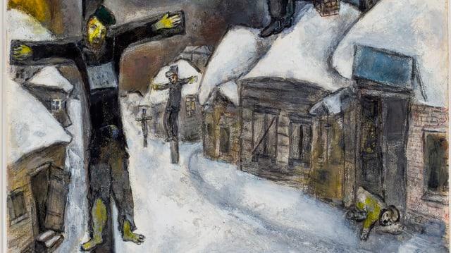 Marc Chagall: «Kreuzigung,1944»