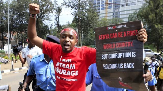 Boniface Mwangi, der berühmteste Aktivist Kenias, will ins Parlament