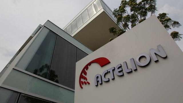 Actelion-Hauptsitz in Basel.