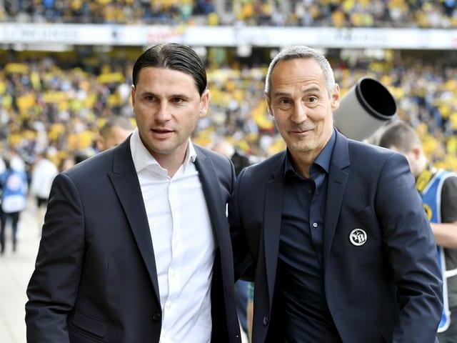 Gerardo Seoane und Adi Hütter.