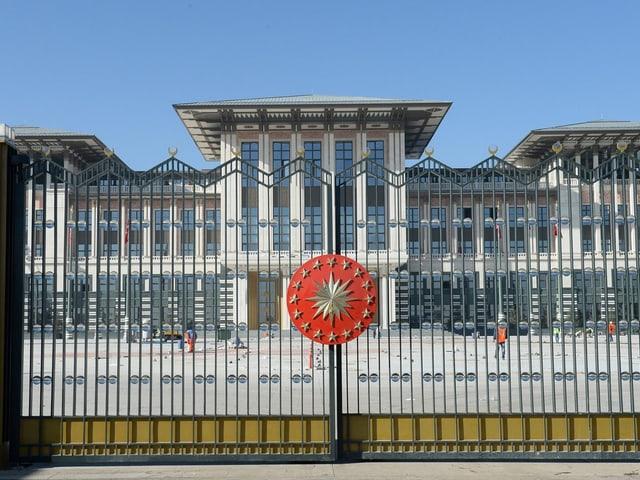 Der neue Präsidenpalast in Ankara