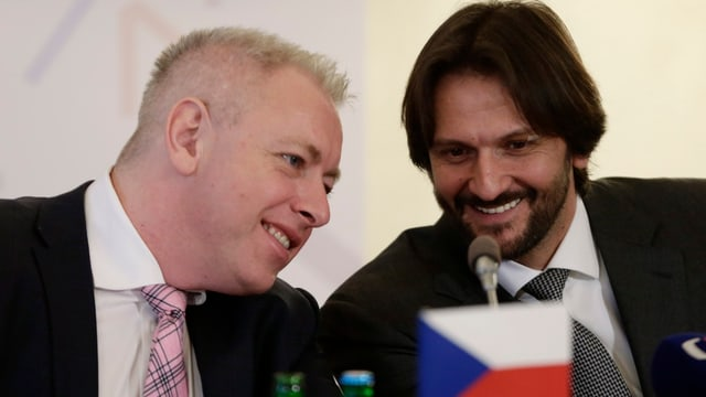 Milan Chovanec und Robert Kalinak