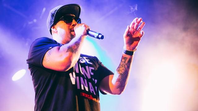 B-Real von Cypress Hill wie er leibt und lebt.