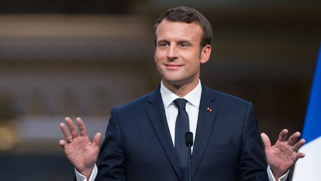 Emmanuel Macron ha bi rir. Tenor las retschertgas daventa ses moviment la pli ferma forza en Frantscha.