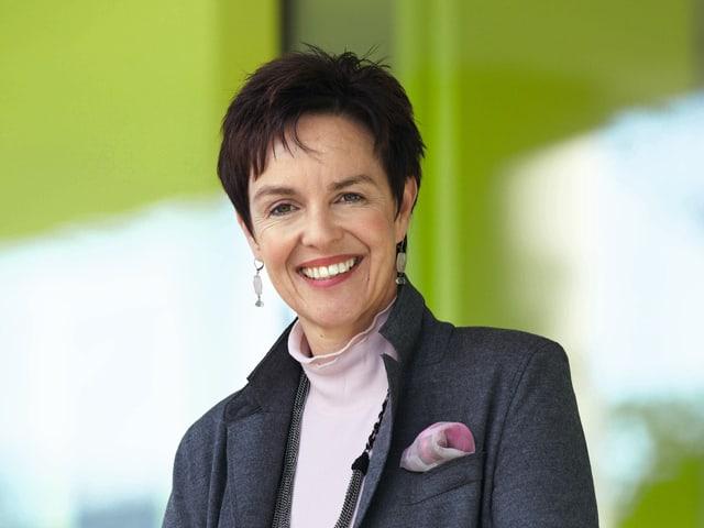 Porträt Monica Gschwind.