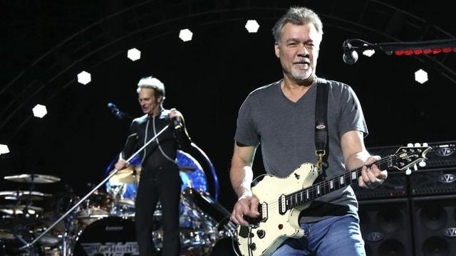 Foto von einem Auftritt von Eddie Van Halen