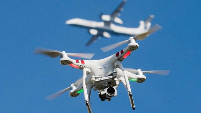 Drohnen in der Luft