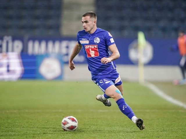 Alex Carbonell (23), Mittelfeld, FC Luzern