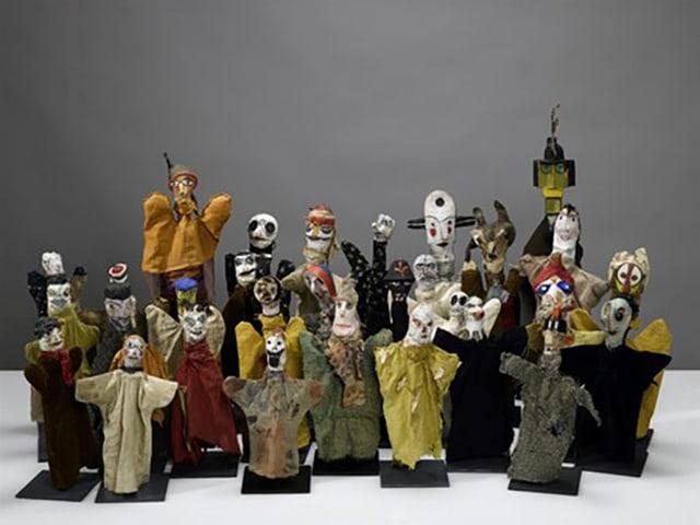 Handpuppen von Paul Klee