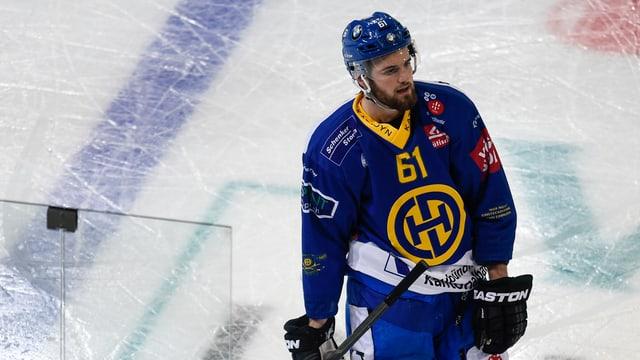 Fabian Heldner dal club da hockey da Tavau.
