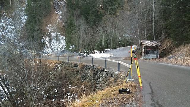 La via da Val Stussavgia vegn schlargiada.