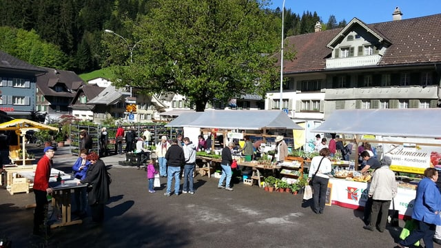 Der Wildräutermarkt in Escholzmatt