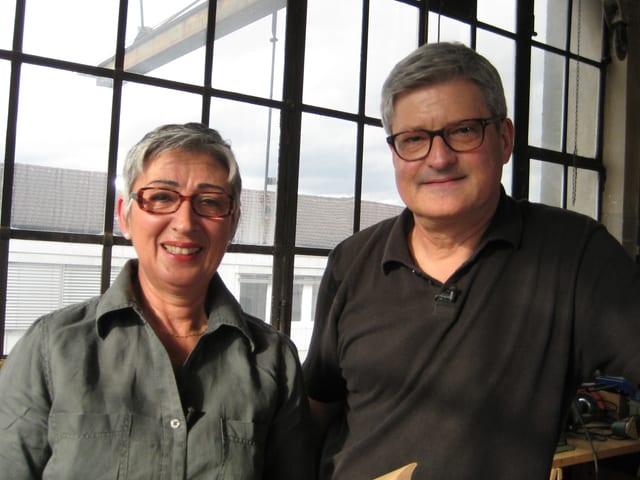 Patrizia Bernardinis und Daniel Schneider