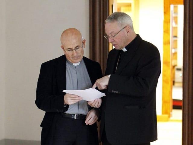 Joseph Bonnemain è gia blers onns en il cussegl da la diocesa.