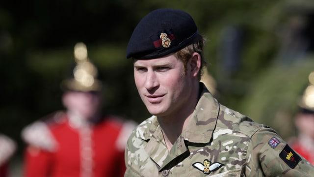 Prinz Harry in Uniform