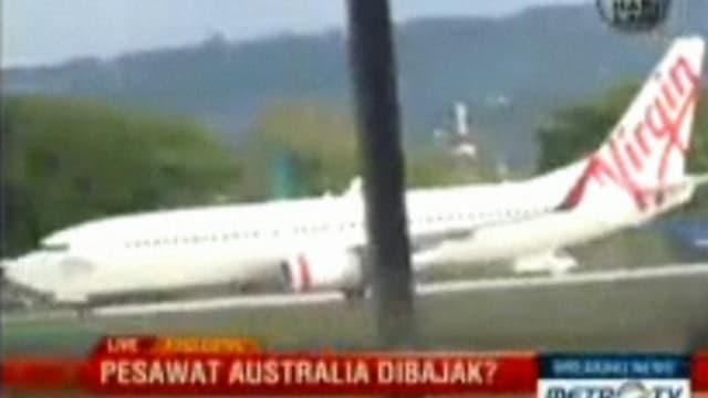 Unscharfes Virgin-Flugzeug (Screenshot).