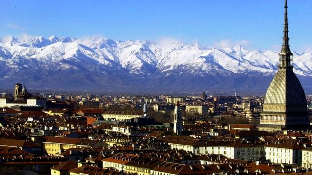 Blick auf Turin.