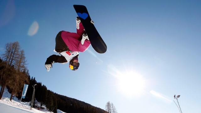 Video «Snowboarder und Freeskier im Interview: Iouri Podladtchikov und Elias Ambühl» abspielen