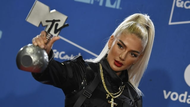 Loredana mit MTV-Preis
