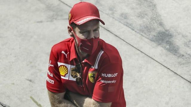 Sebastian Vettel cun mascra
